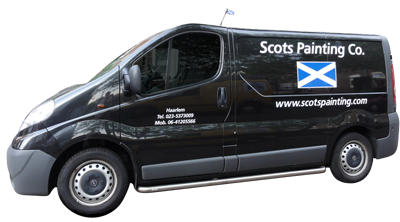 scots painting car